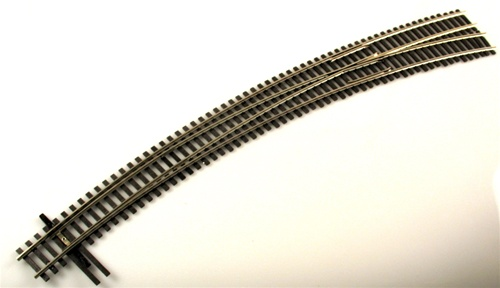 Shinohara Track 129 HO Code 100 Nickel Silver #8 Right Hand Switch Turnout LN  Shinohara Track 129