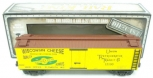 MTH 30-8637 Wisconsin Cheese Die-Cast Reefer Car LN/Box