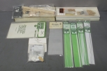 S Scale Building Kits, Materials: BTS-105, 4102, BTS-200, 4001, Etc [9] EX/Box