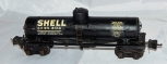 Prewar Lionel SHELL 2955 Die Cast Tank Car Black Decals SEPX 8124 Semi Scale 40
