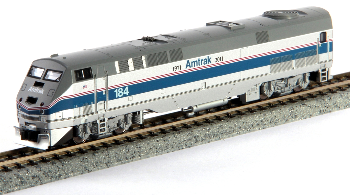 Buy Kato 1766024 N Scale Amtrak 40th Anniversary P42 Diesel 184 Track Wiring Photo From Seller