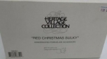 Dept 56 58401 Heritage Village Collection Red Christmas Sulky NIB