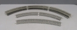 Aristo-Craft G Scale USA Style Stainless Steel Curved Track Sections [12]