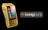 Maquininha de Cartão König Bank