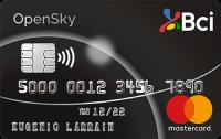 Logo Banco BCI Bci Mastercard Platinum OpenSky