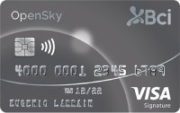 Logo Banco BCI Bci Visa Signature OpenSky