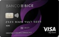 Logo Banco BICE Bice Visa Signature