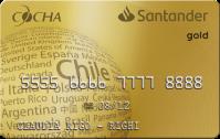 Logo Banco Santander Santander Gold Cocha Mastercard