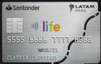 Logo Banco Santander Santander Life LATAM Pass