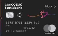 Logo Scotiabank Cencosud Scotiabank Cencosud Mastercard Black