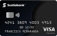 Logo Banco Scotiabank Scotiabank Visa Signature
