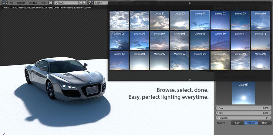 1. Realistic Lighting & Pro-Lighting: Skies - Blender MarketPro-Lighting: Skies - Blender ... azcodes.com