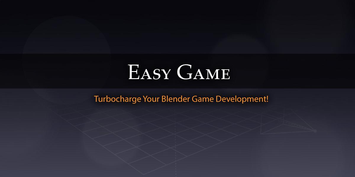 Blender-Easy-Game
