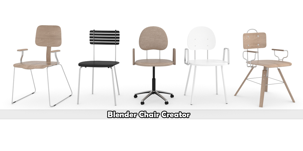 Blender Chair Creator addon