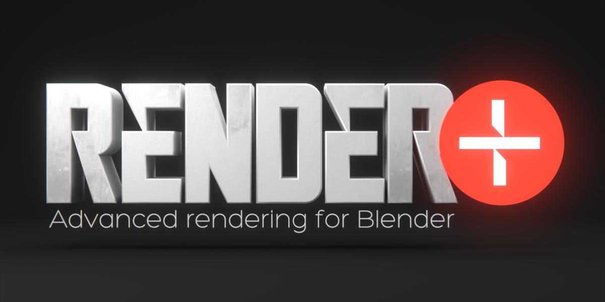 Blender Render+ addon