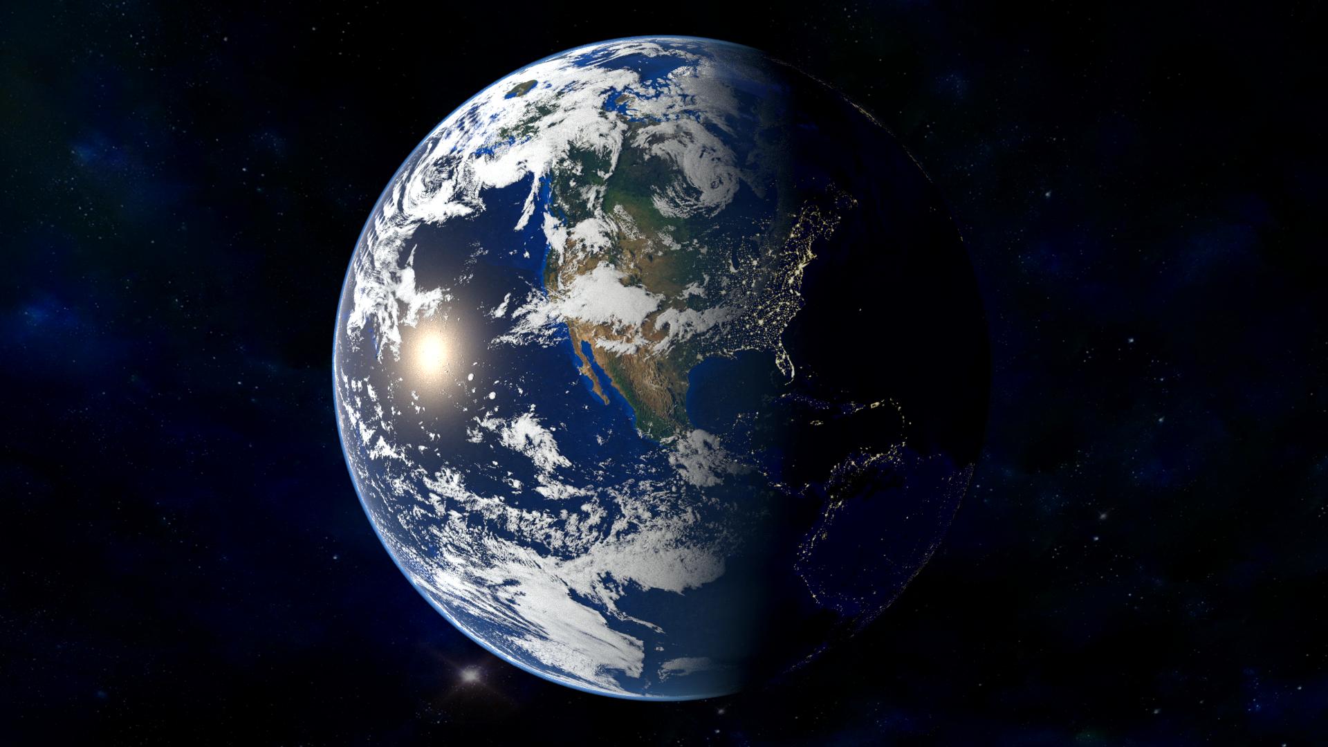 Ultra High Definition Earth