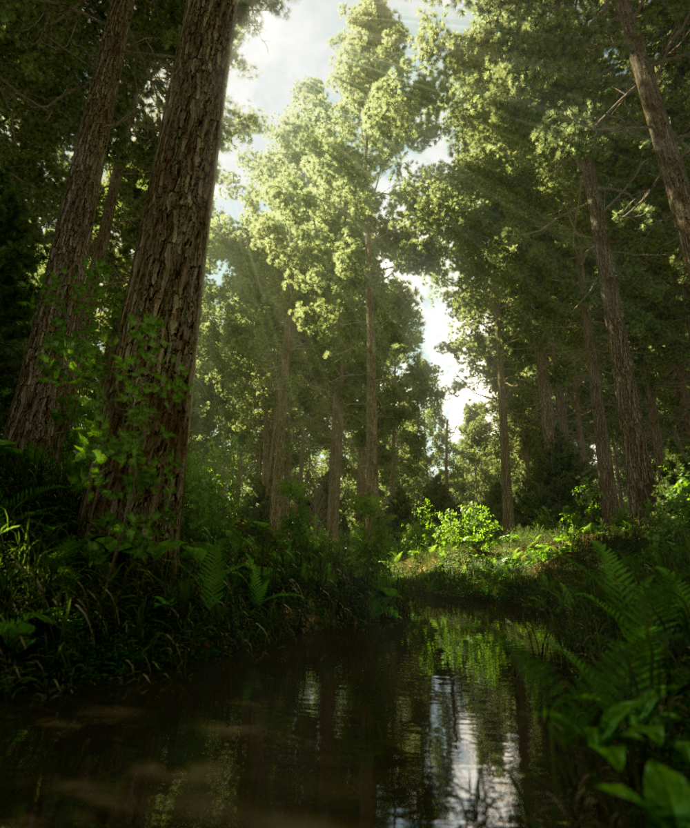 beauty-render22-pine TALL tree scene-1000x1200-smaller