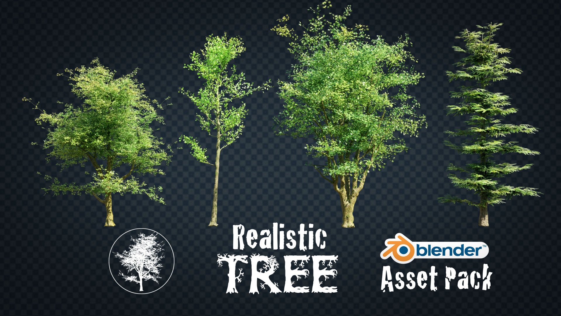 Realistic Tree Asset Pack