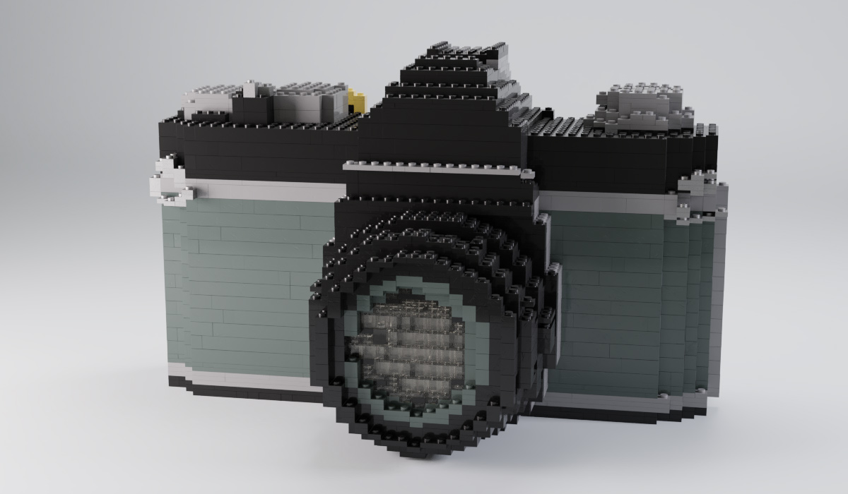 Blender乐高三维砖块模拟插件Bricker – Photoreal Lego Sculptures & Simulations v2.5.0版本下载