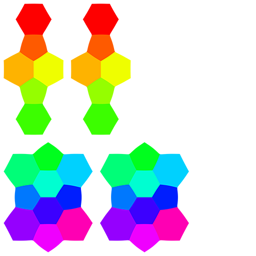 UV Layout, Colored