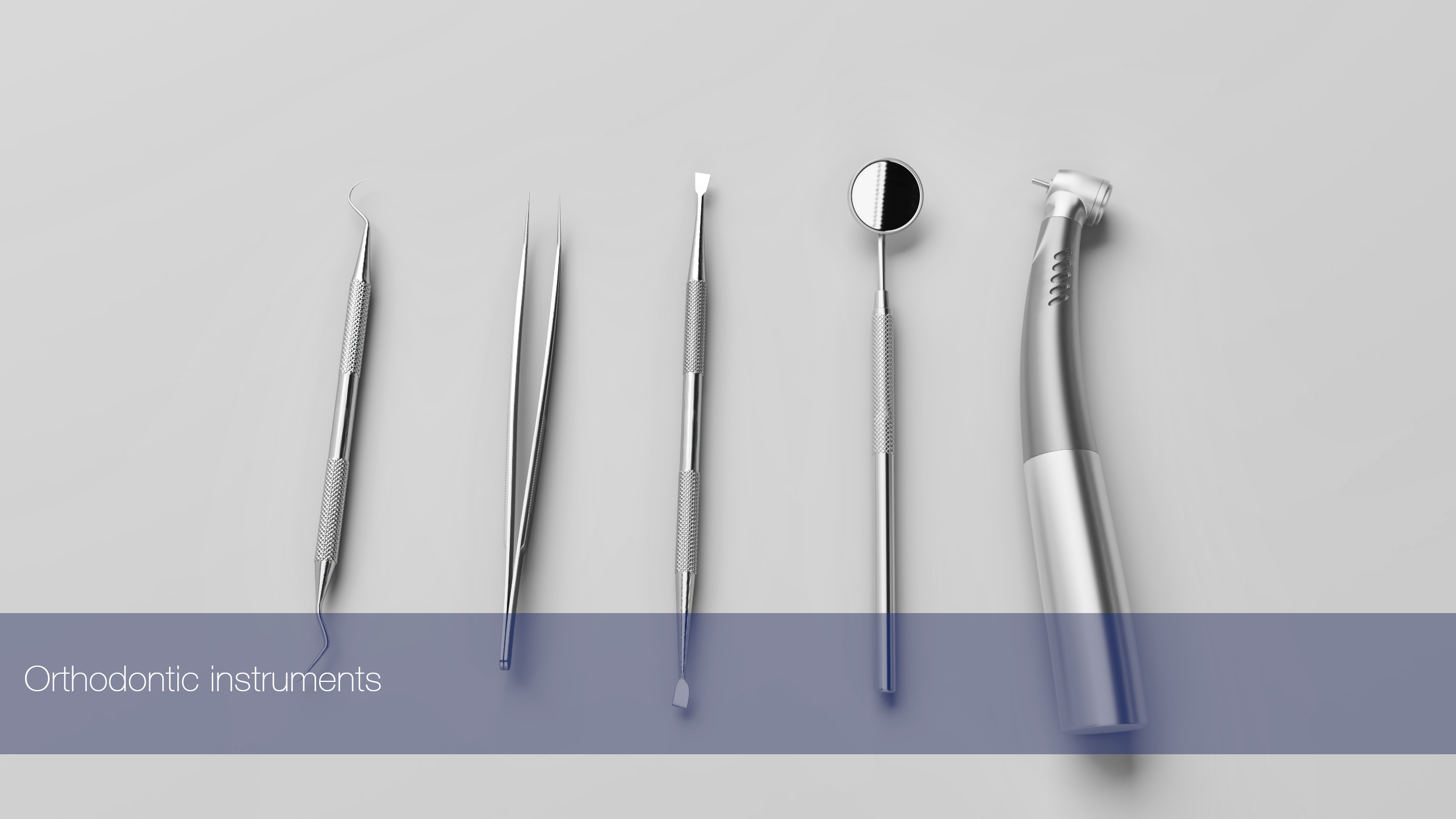 Orthodontic instruments Models 3D