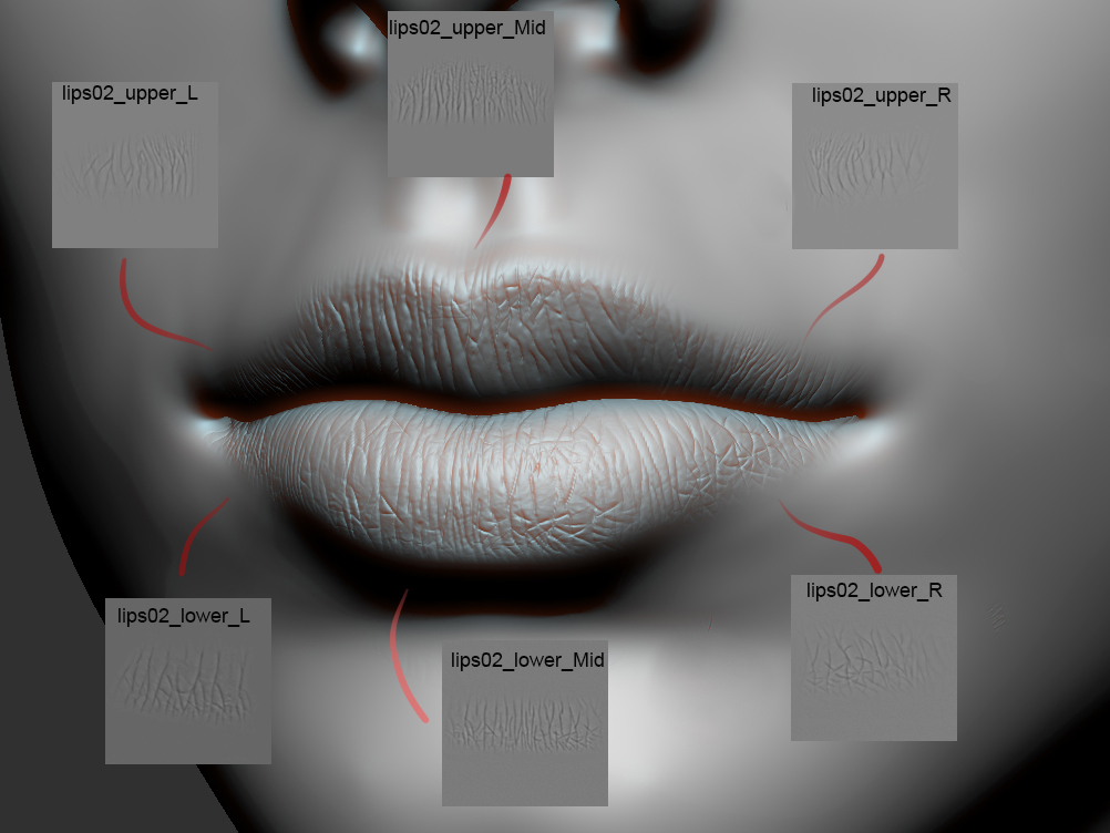 Lips Sculpt Alpha Pack for 2 79 and 2 8