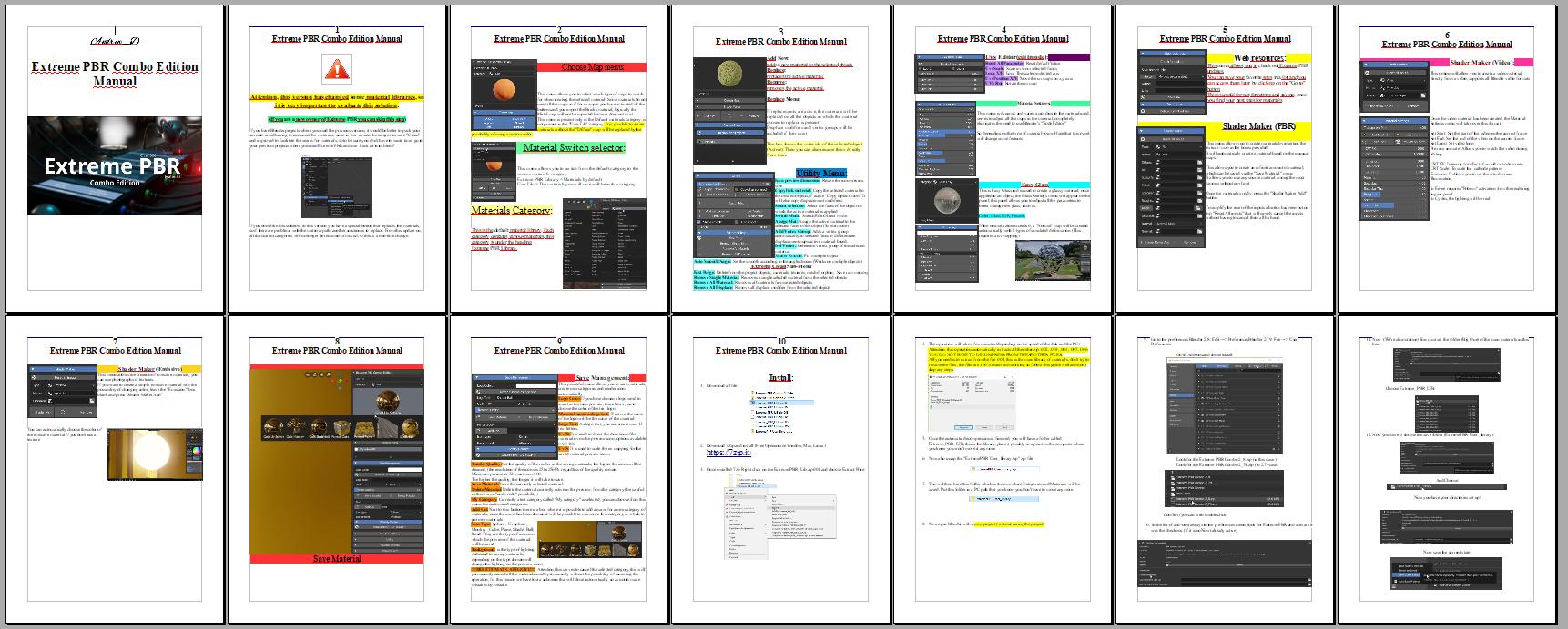 Blender Materials Download