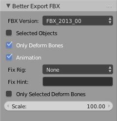 Better FBX Importer & Exporter