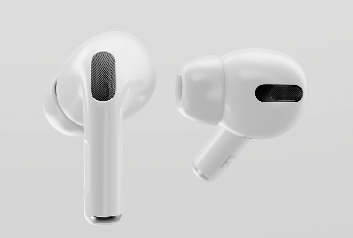 Airpods Pro 3d Model Blender Market