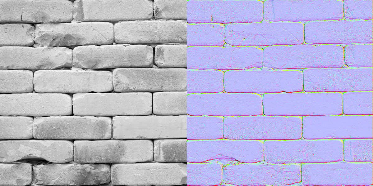 how to add a normal map in blender