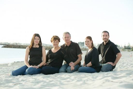 Tegan & Family - Family Portrait Photography Session - South Beach, Fremantle