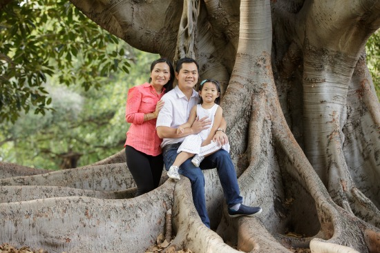 Rebecca and Family - Hyde Park - Family Portrait Session