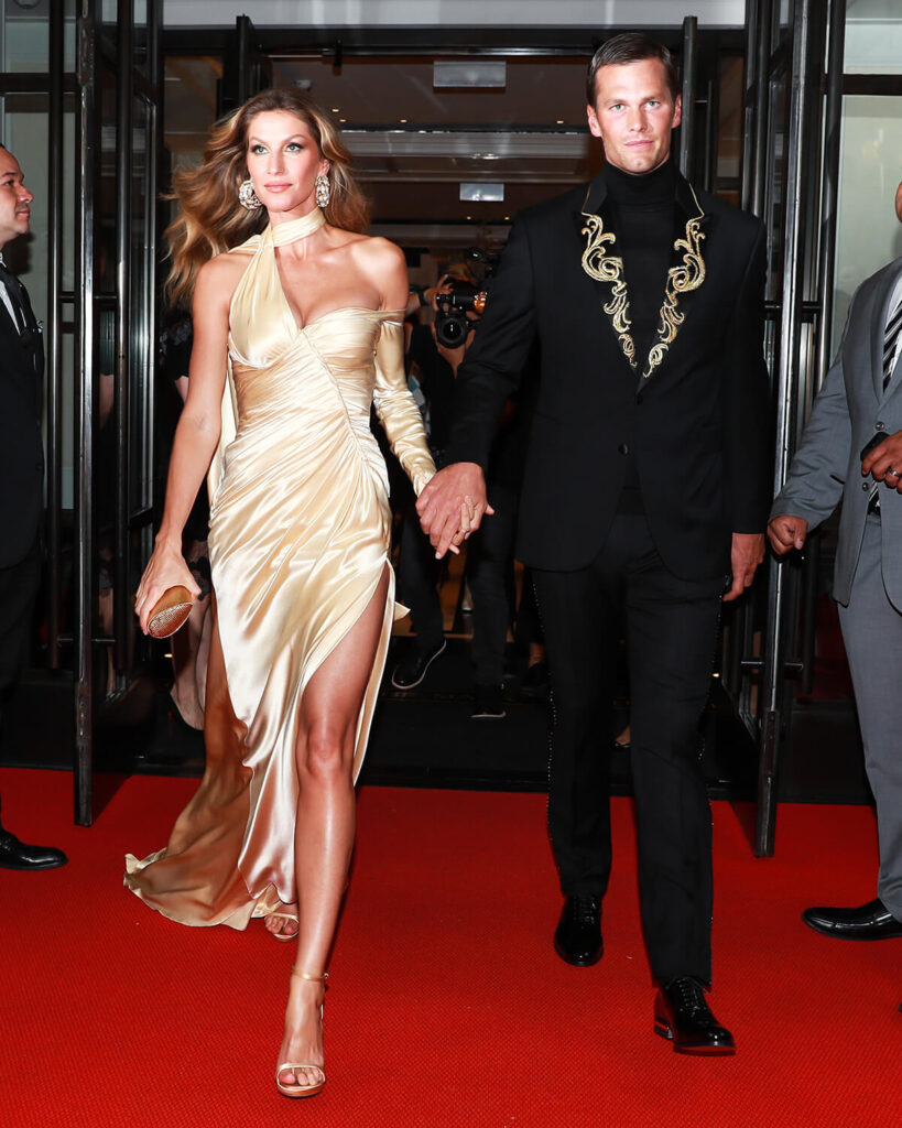Gisele Bundchen and Tom Brady at the Mark Hotel, Met Gala 2018