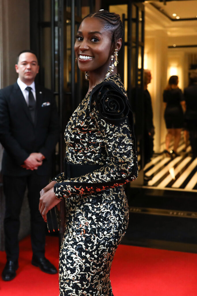 Issa Rae at the Mark Hotel, Met Gala 2018