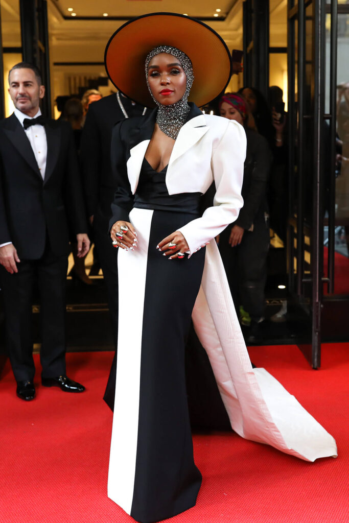 Janelle Monae at the Mark Hotel, Met Gala 2018
