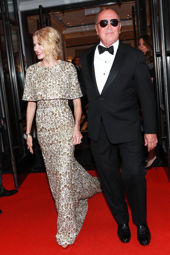 Naomi Watts and Michael Kors at the Mark Hotel, Met Gala 2018