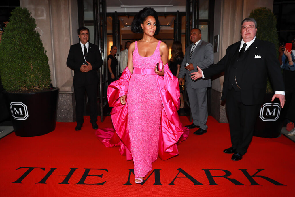 Tracee Ellis Ross at the Mark Hotel, Met Gala 2018
