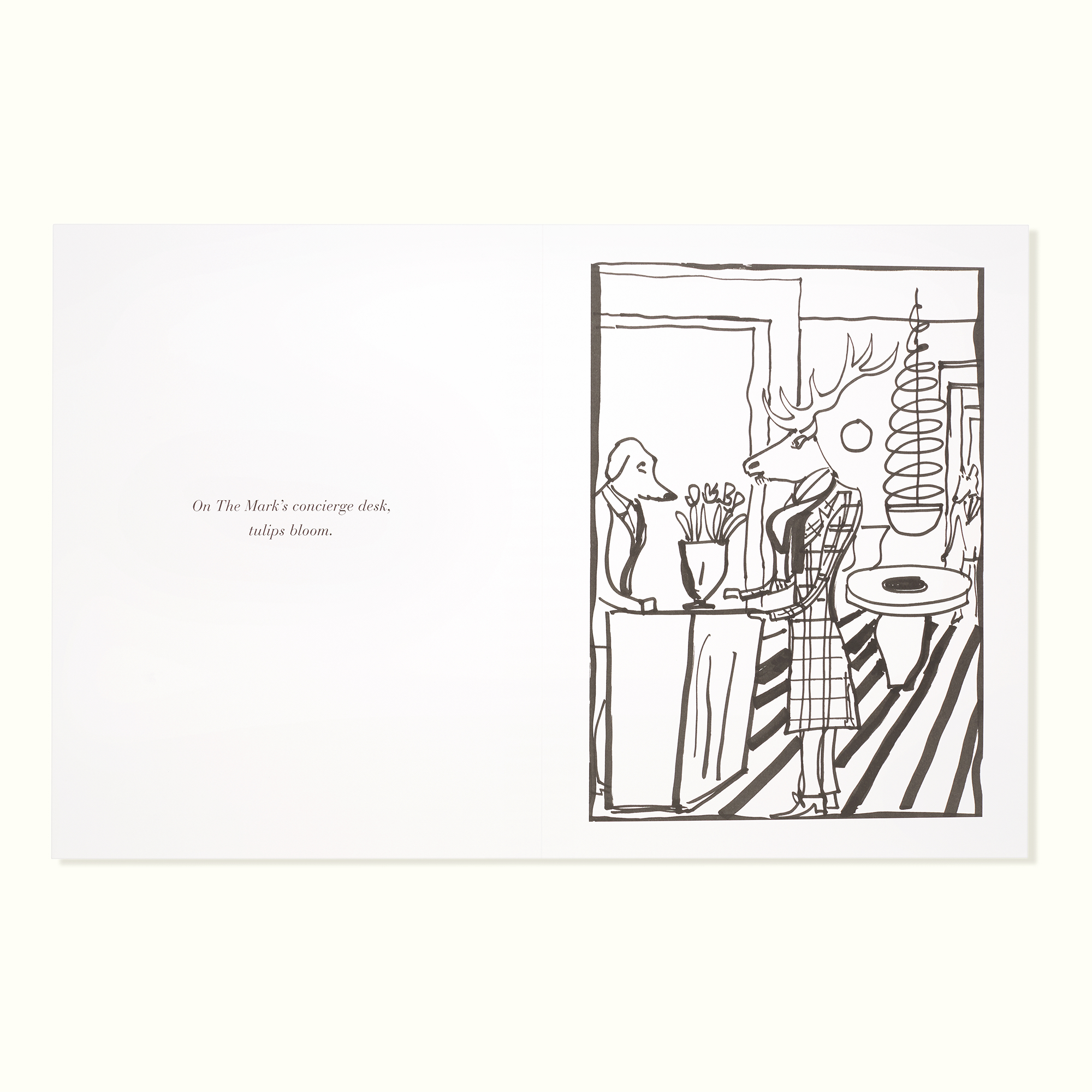 The Mark Coloring Book and Pencil Set – Le Shop   The Mark Hotel