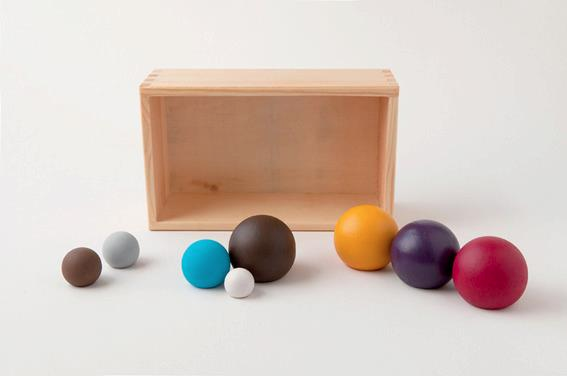 nativity - minimalist balls