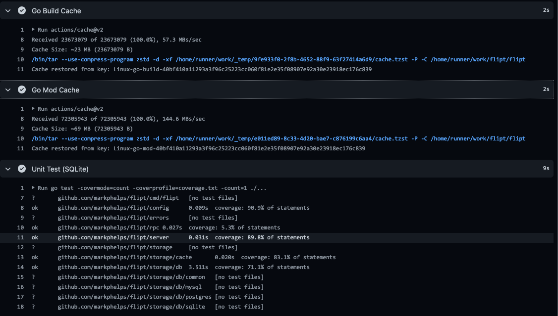 Flipt Build - With Cache