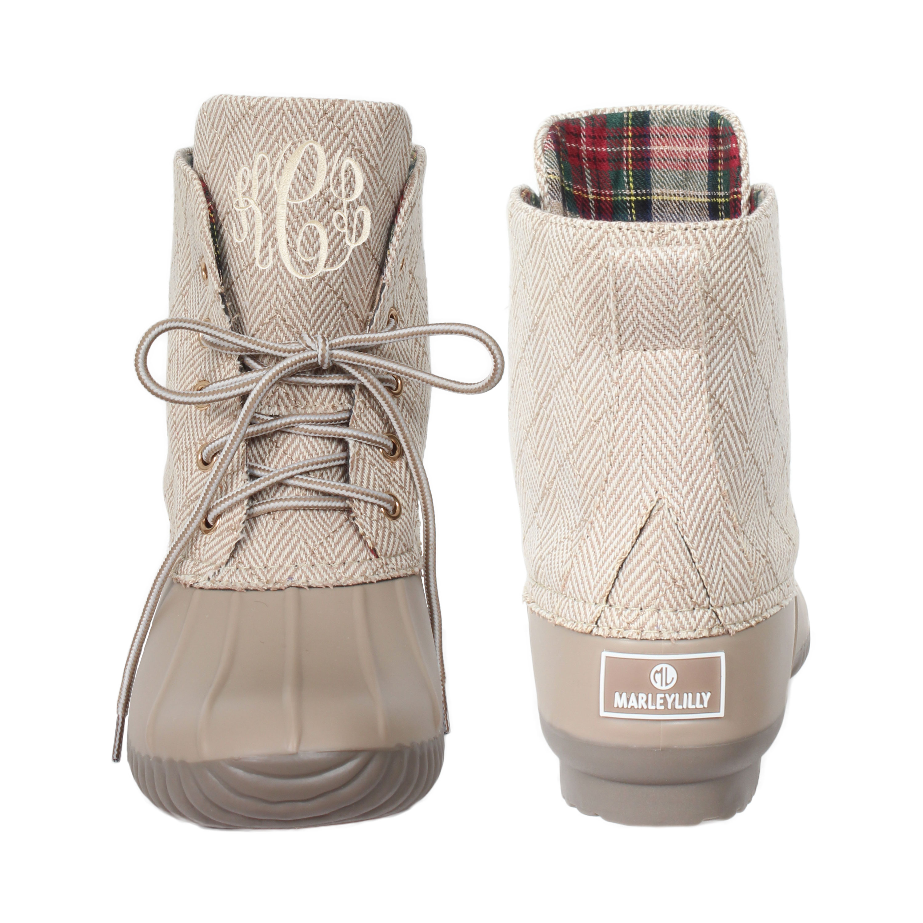 Unique Monogrammed Duck Boots | Marleylilly ZQ76