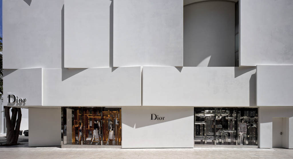 @arcstreet's cover photo for 'THE NEW DIOR FLAGSHIP IN MIAMI / DESIGNED BY BARBARITO BANCEL ARCHITECTS - Arc Street Journal'