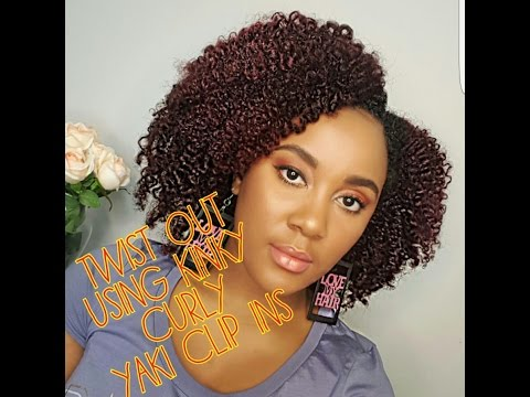 @nknaturalz's cover photo for 'HOW TO STYLE KINKY CURLY YAKI CLIP INS'