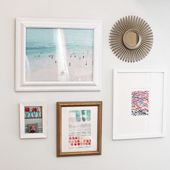 @ohsolovely_blog's cover photo for 'MINI HOME TOUR // ANOTHER MINTED GALLERY WALL - Oh So Lovely Blog'
