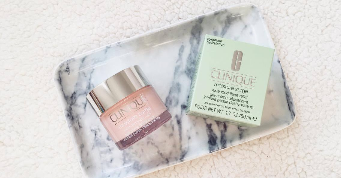 @mollylouise96's cover photo for 'Molly Louise: Clinique Moisture Surge Extended Thirst Relief'