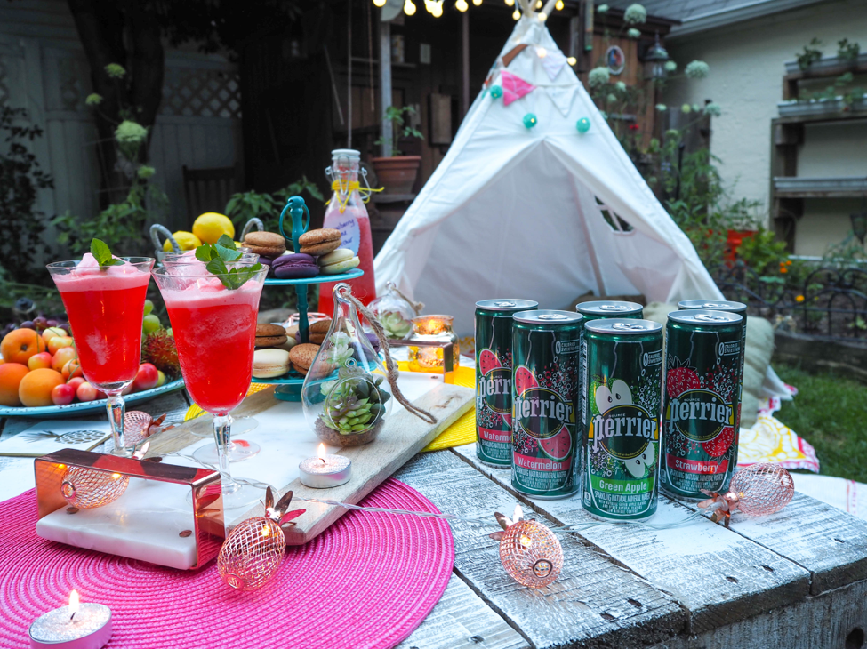 @getlostwithjackie's cover photo for 'Summer Picnic Soiree with Perrier - Get Lost With Jackie'