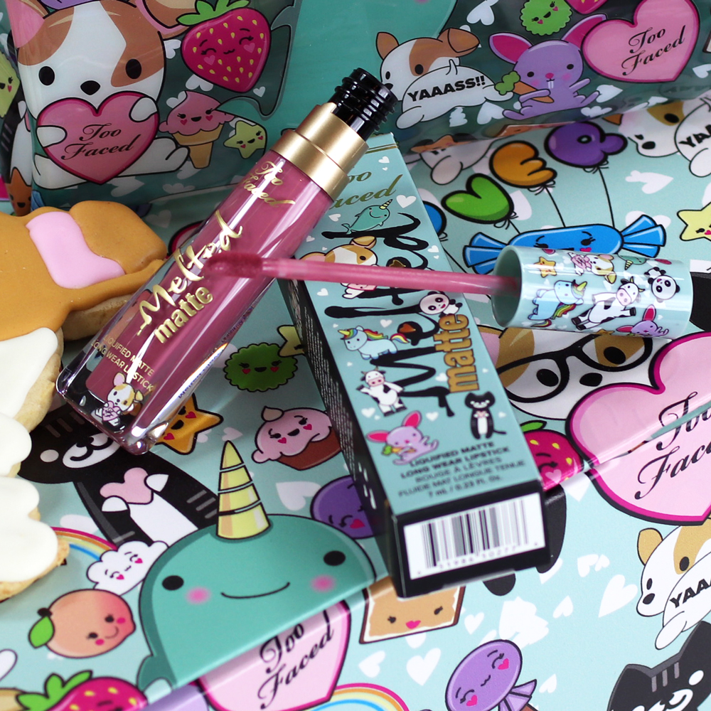 @mybeautybunny's cover photo for 'Too Faced Melted Clover Liquid Matte Lipstick | My Beauty Bunny'