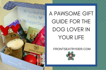 @frontseatryder's cover photo for 'A gift guide for the dog lover in your life'