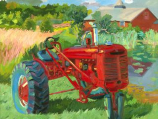 1938 Farmall Series, Shufelt Farm, The Berkshires