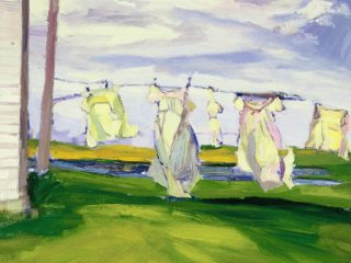 Clothesline, Serumgard Farm, ND